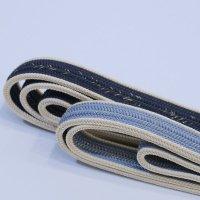 正絹 帯締め 金糸混