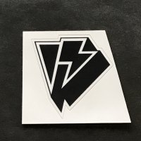 HOMESCHOOL ホームスクール 【LOGO STICKER】 黒 5.5×5cm 小 新品正規(メール便)