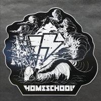 HOMESCHOOL ホームスクール 【LOGO STICKER】 黒 15cm 新品正規(メール便)