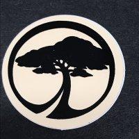 ARBOR アーバー 【LOGO STICKER】 白 3cm 極小 新品正規(定)