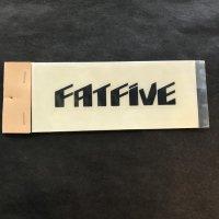 FATFIVE ファットファイブ ステッカー 【LOGO SHEET STICKER】 黒 9×2cm 新品正規品 (メール便)