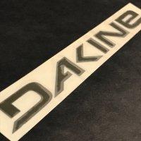 DA KINE ダカイン ステッカー【LOGO DIE CUT STICKER】緑 21.5cm 新品正規(メール便)