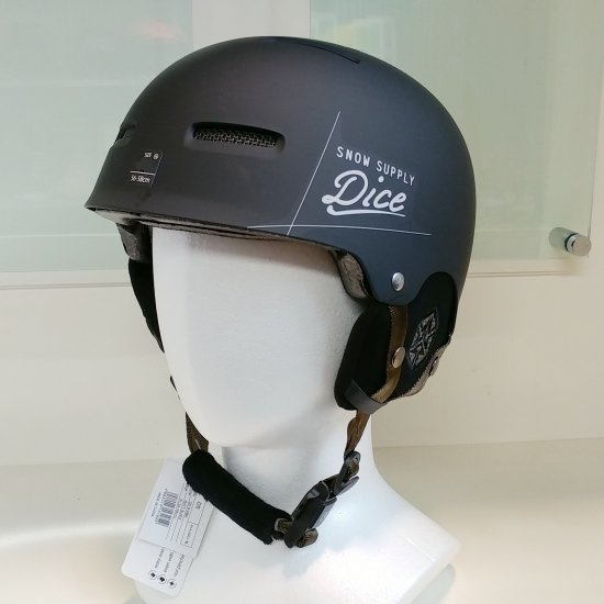 DICE ダイス 2018【D5】MATT BLACK  ヘルメット 新品正規 SALE!