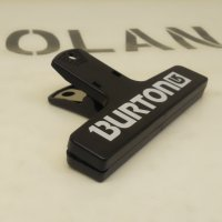 BURTON バートン 【クリップ】黒 新品正規品(メール便)
