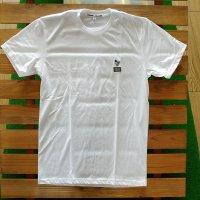 PIDGIN ORANGE ピジンオレンジ 【Pidgin Patch Tee】 WHITE 白 Tシャツ 新品正規品