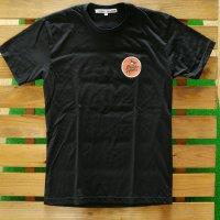 PIDGIN ORANGE ピジンオレンジ 【Pidgin Patch Coaster Tee】 黒 Tシャツ 新品正規