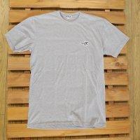 YOKI SHOP ヨキショップ 【LITTLE GLASSES PATCH TEE】 H.Gray グレー Tシャツ 新品正規