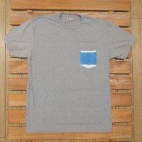YOKI SHOP ヨキショップ 【Towel Pocket Tee】 Gray グレー Lsize Tシャツ 新品正規