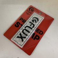 FLUX フラックス 【SQUARE PAD】 CLEAR/BLACK 透明 デッキパッド 新品正規品 (メール便)