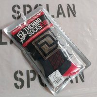 DEELUXE ディーラックス 【THERMO SOCKS EVO】 BLACK/RED ソックス 新品正規