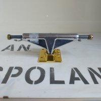 VENTURE ベンチャー 【V-TITANIUM POLISHED/GOLD】 シルバー/ゴールド Low チタン超軽量スケートボードトラック 新品正規品