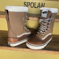 VANS バンズ 【STANDARD SNOW BOOTS】 BROWN/WHITE スノーシューズ 新品正規