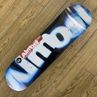 ALMOST オルモスト 【Spin Blur Logo Blue】  8 x 31.6 新品正規品 スケートデッキ