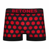 BETONES ビトーンズ 【BUBBLE6】 RED  新品正規品 ボクサーパンツ フリーサイズ(郵便)