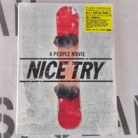 DVD スノーボード 2010 【Nice Try】 People Creative  日本語字幕 新品正規 半額SALE! (メール便)