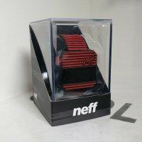 NEFF ネフ 【DIGI WATCH STRIPE】 赤/黒ストライプ 時計 新品正規