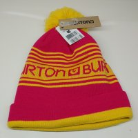 <img class='new_mark_img1' src='https://img.shop-pro.jp/img/new/icons16.gif' style='border:none;display:inline;margin:0px;padding:0px;width:auto;' />BURTON バートン 【WMS TROPE BEANIE】 ピンク/黄色 レディース ビーニー 新品正規