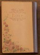 オリジナル本革聖書カバー<br>Shizuka Living<br>チョコレートブラウンの商品画像