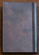 オリジナル本革聖書カバー<br>Style Jun<br>ネイビーブルーの商品画像