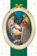 二つ折りクリスマスカード<br>マギの礼拝<br>73020295の商品画像