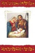 二つ折りクリスマスカード<br>聖家族<br>73020298の商品画像