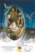 二つ折りクリスマスカード<br>マギの礼拝<br>73020307の商品画像