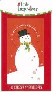 59273 リトルBOXカード  クリスマスカード<br />16枚入の商品画像