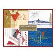 ライト クリスマスカード コレクション<br />24枚の商品画像