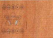 #270 木製ポストカード<br />(イースターエッグ)の商品画像