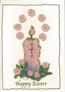 23203 ちぎり絵風イースターカード(Sr.ピエランジェラ矢野滋子) の商品画像