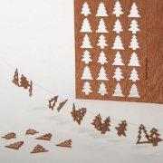 #387 木製ポストカード(24のもみの木)<br />封筒付きの商品画像