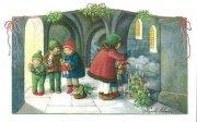 NIK222 子どもと回廊 ポストカードの商品画像