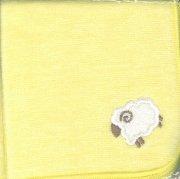 29101 羊のミニタオル 黄の商品画像