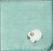 29100 羊のミニタオル 緑の商品画像