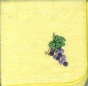 29098 ミニタオル ぶどうの木 黄の商品画像