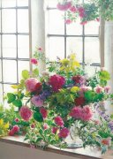 51653 文庫みたいなミニノートGrace to you 薔薇の花園 FR18-Dの商品画像