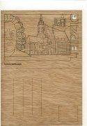 #370 木製ポストカード<br />(ライプツィヒ)の商品画像