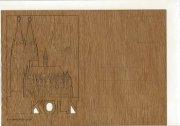 #76 木製ポストカード<br />(ケルン大聖堂)の商品画像