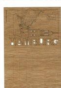 #380 木製ポストカード<br />(ハンブルク)の商品画像