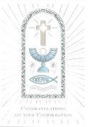QR4092 洗礼祝いカード<br />RELIGIOUS COLLECTIONの商品画像
