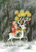 LAG-2144 クリスマスポストカードの商品画像
