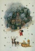 LAG-1559 クリスマスポストカードの商品画像
