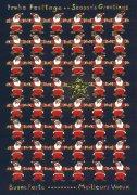 LAG-AM95 クリスマスポストカードの商品画像