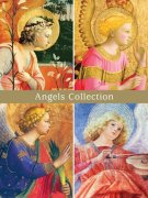 天使 クリスマスカード<br />24枚入の商品画像