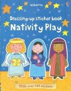 Dressing up sticker book<br />Nativity playの商品画像