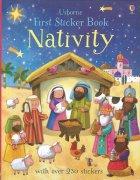 Nativity<br />First sticker bookの商品画像