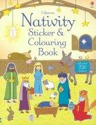 Nativity<br />Sticker and colouring bookの商品画像