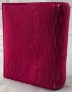 Chubie BookCover SS<br>ワインレッド<br>ミニ版対応マルチ聖書カバーの商品画像