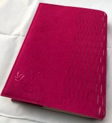 Chubie BookCover M<br>ワインレッド<br>中型薄型版対応マルチ聖書カバーの商品画像