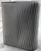 Chubie BookCover L<br>グレー<br>中型版対応マルチ聖書カバーの商品画像